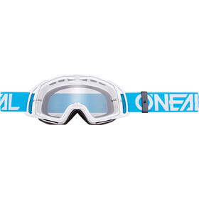 ONeal B-20 Goggles vit/turkos